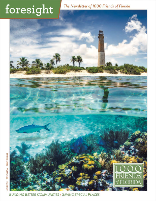 1000 Friends of Florida, Newsletter, Richard Auger, Featured Artist