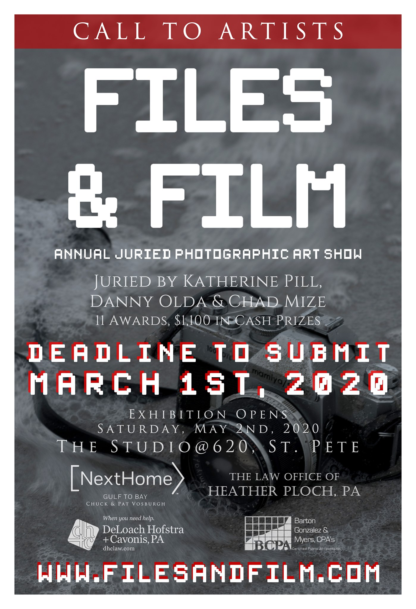 2020 Files and Film Art Show Application