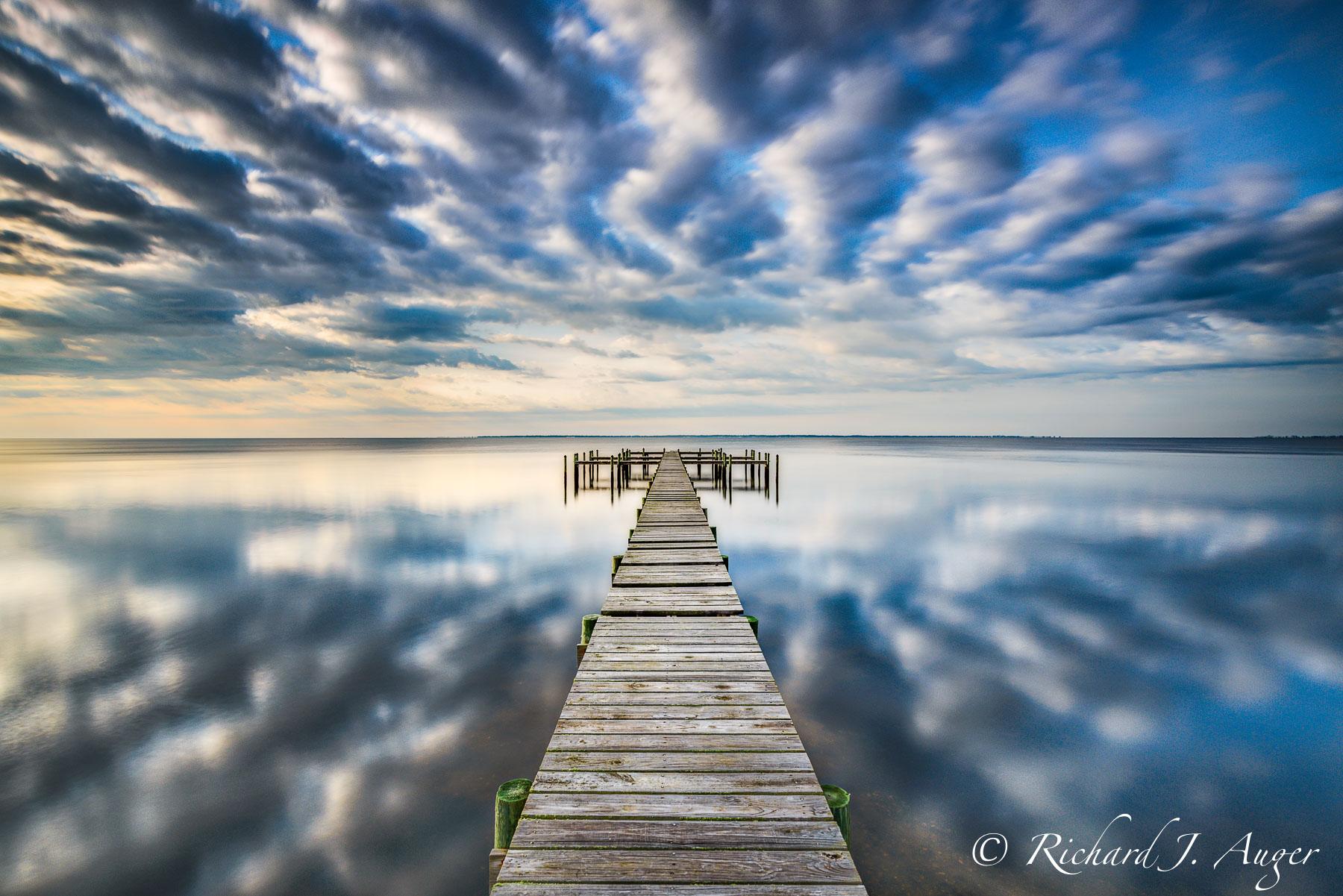 Forgotten Coast, Florida, Jetty, Dock, Clouds, drama, Photography