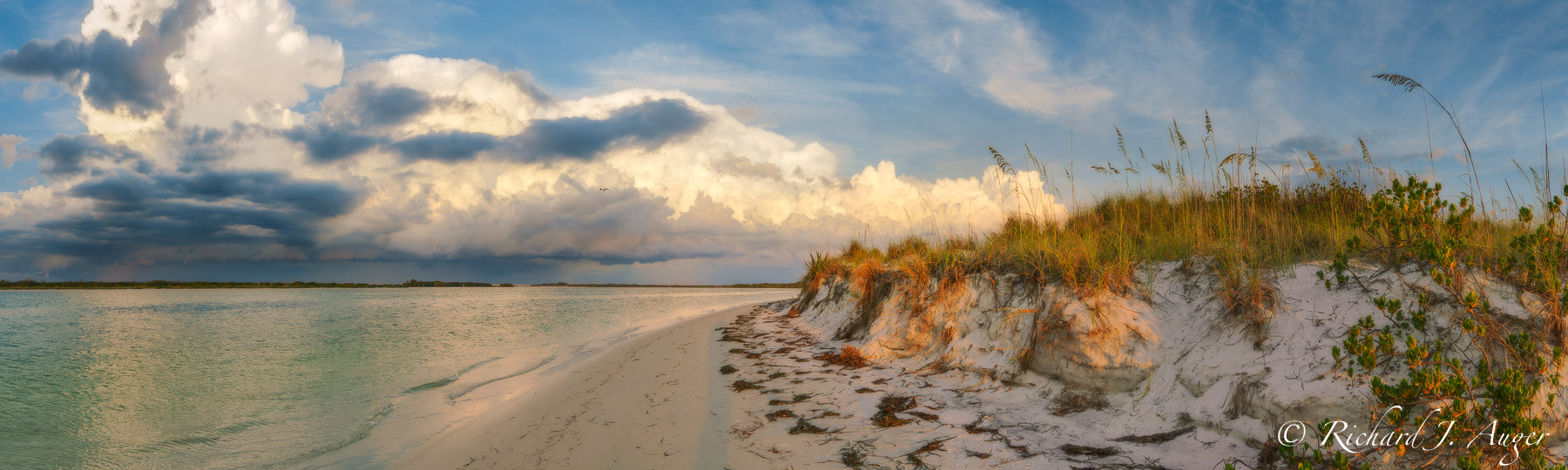 Fort De Soto Park, Florida, Pinellas County, St Petersburg, Beach, Sand Dunes, Ocean, Sunset, Photograph, Photographer, Photo, Landscape, Richard Auger