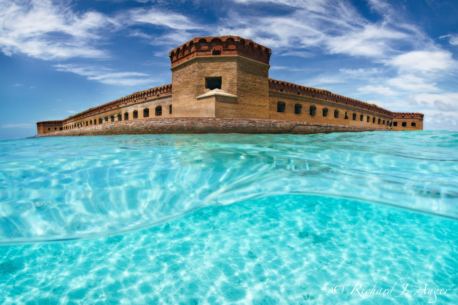 Dry Tortugas National Park, Fort Jefferson, Florida, Underwater, Fort, Key West, Ocean, Photograph, Landscape, Photo, Photographer