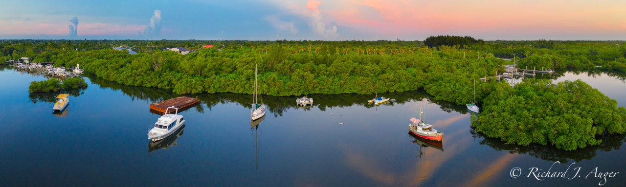 Hobe Sound, Boat Ramp, Jimmy Graham Park, Florida, Drone, Aerial, Photographer, Photograph