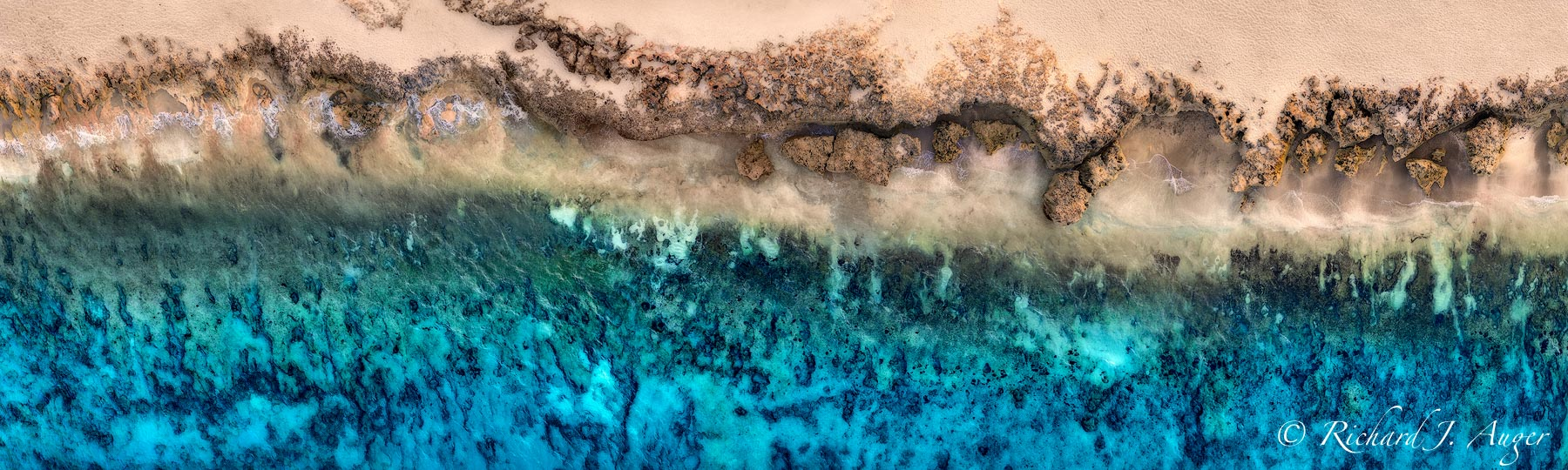 House of Refuge, Reef, Ocean, Beach, Aerial, Drone Photography, Richard Auger