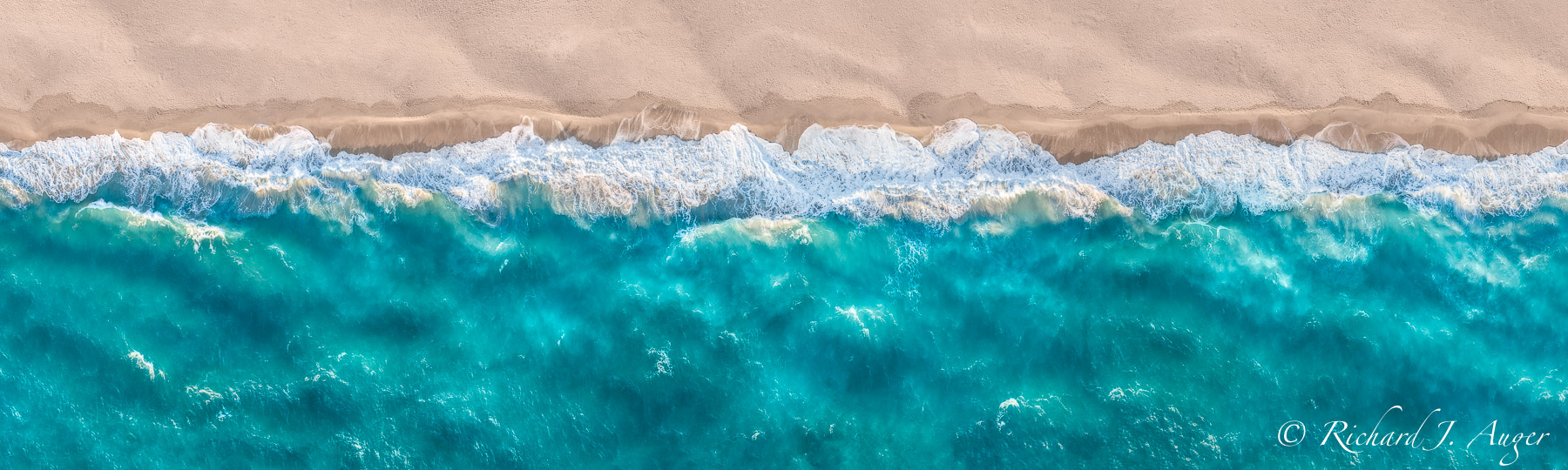Juno Beach, Florida, Aerial, Drone, Waves, Panorama, Beach, Sand, Sunrise, Turquoise
