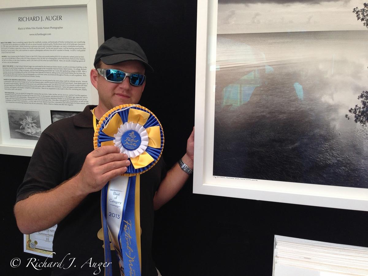 Richard Auger 1st Place 2013 Disney Festival Masters