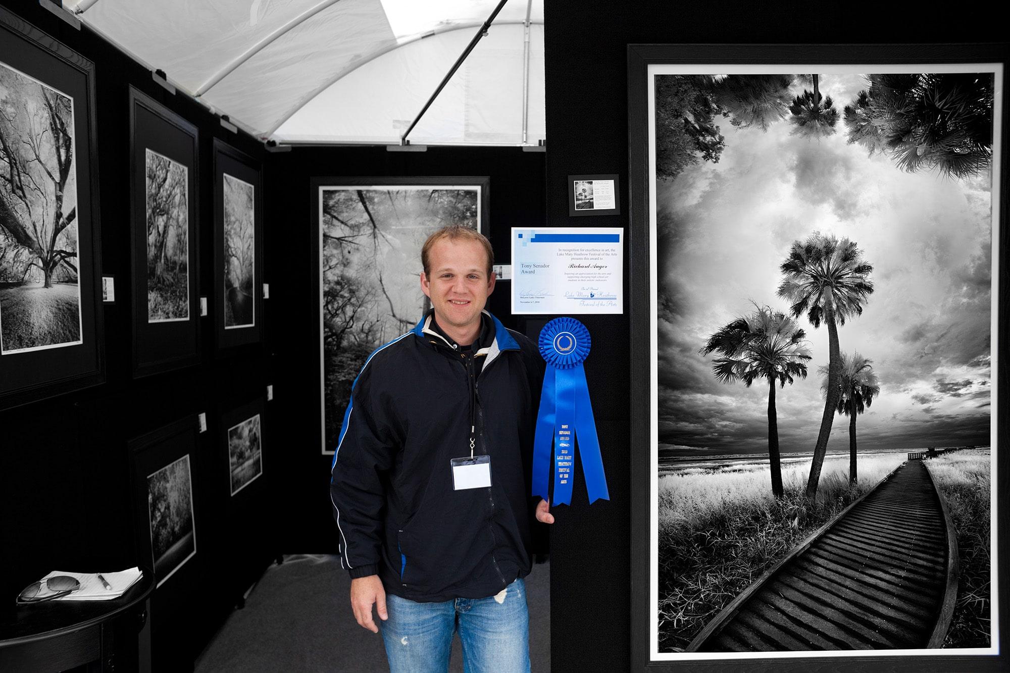 Richard Auger, Photographer, Portrait