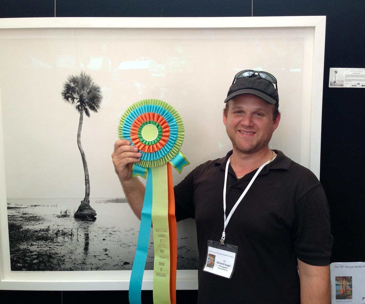 Richard Auger Winds Award Winter Park 2014