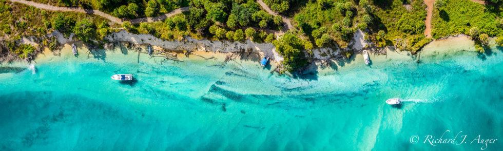Jupiter Intercoastal, Jupiter Inlet, Water, Green, Carribean, boats, palm trees, Richard Auger