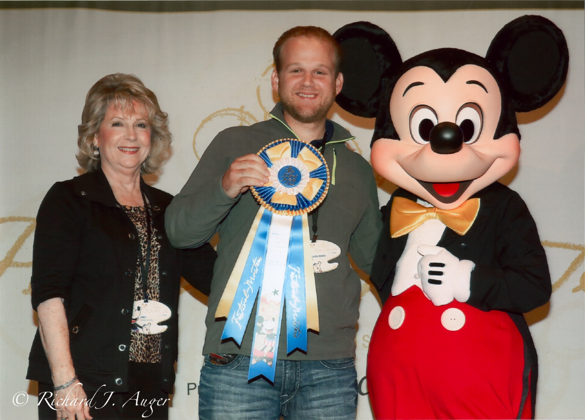 1st Place: Disney Festival of the Masters